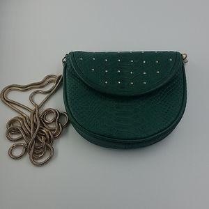 Rebecca Minkoff Green Chain Crossbody Bag